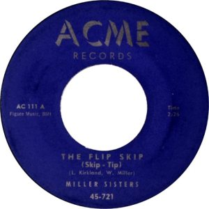 MILLER SISTERS - ACME 57 A