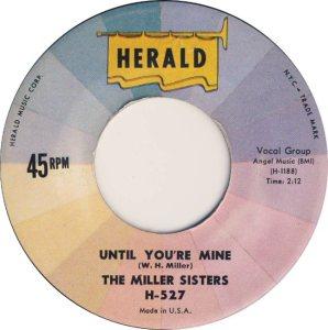 MILLER SISTERS - HER 62 B