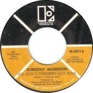 MORRISON DOROTHY 69 B