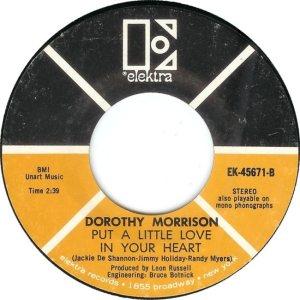 MORRISON DOROTHY 69 C