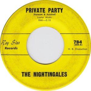 NIGHTINGALES - 62 B