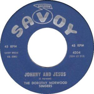 NORWOOD SINGERS - 63 B