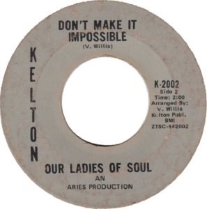 OUR LADIES SOUL - 69 B