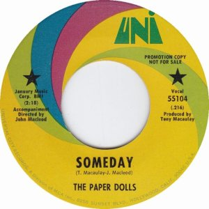 PAPER DOLLS - 69 A