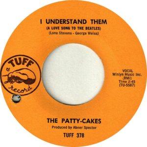 PATTY CAKES - 64 A