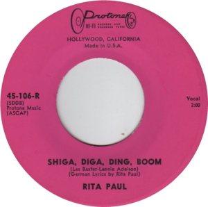 PAUL RITA - 60's C