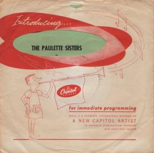 PAULETTE SISTERS - 55 B
