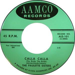 PAULETTE SISTERS - 58 A