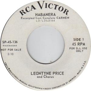 PRICE LEONTYNE 64 C