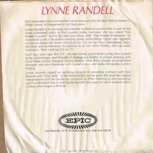 RANDELL LYNNE - 67 B