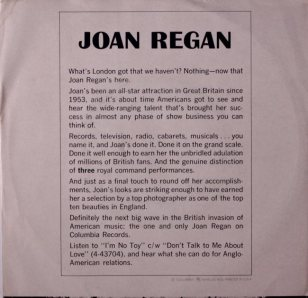 REGAN JOAN - 66 B