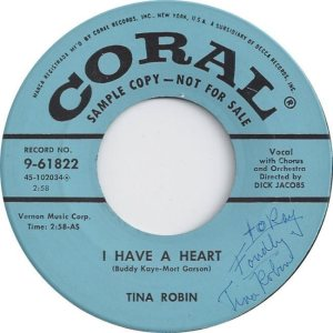ROBIN TINA - 57 D