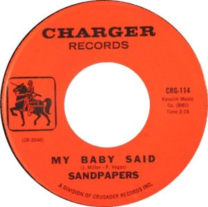SANDPAPERS - 65 B