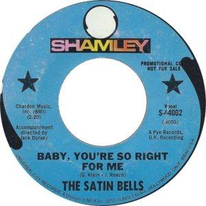 SATIN BELLS - 68 A