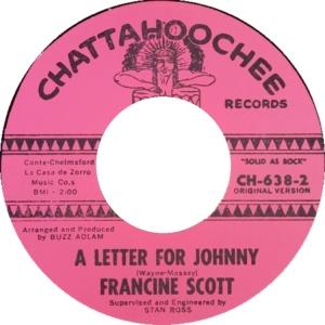 SCOTT FRANCINE 64 B