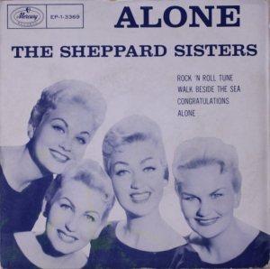 SHEPHERD SISTERS - 57 MER EP COVER