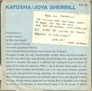 SHERRILL JOYA 62 B