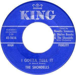 SHONDELLS - 62 B