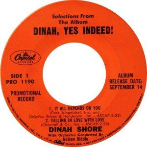 SHORE DINAH 59 C