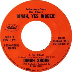 SHORE DINAH 59 D