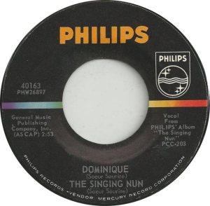 SINGING NUN 63 B
