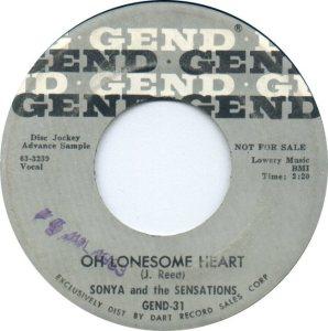 SONYA SENSATIONS - 63 A