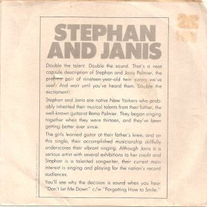 STEPHAN & JANIS - 66 B