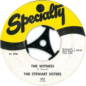 STEWART SISTERS 58 A