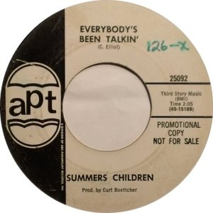 SUMMERS CHILDREN 65 B