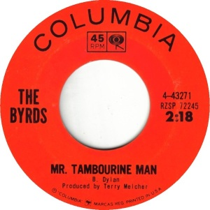 TAMBOURINE MAN - BYRDS A 65