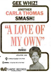 Thomas, Carla - 05-61 - A Love of My Own