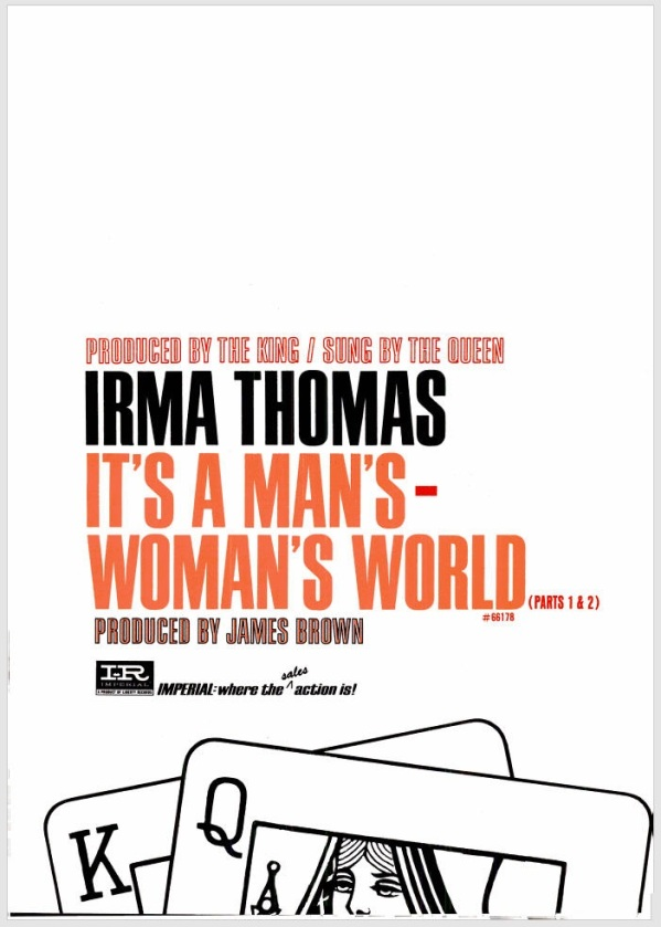 Thomas, Irma - 06-66 - It's a Woman's World