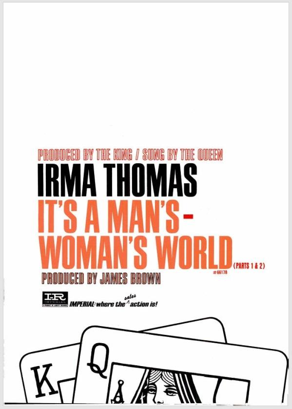 Thomas, Irma - 06-66 - It's a Woman's World