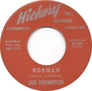 THOMPSON SUE 61 A