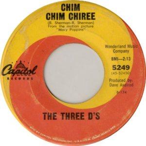 THREE D'S - 64 A