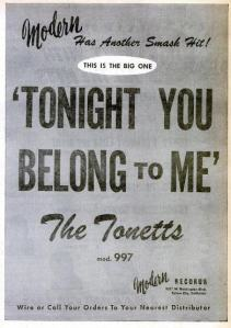 Tonetts - 08-56 - Tonight You Belong to Me