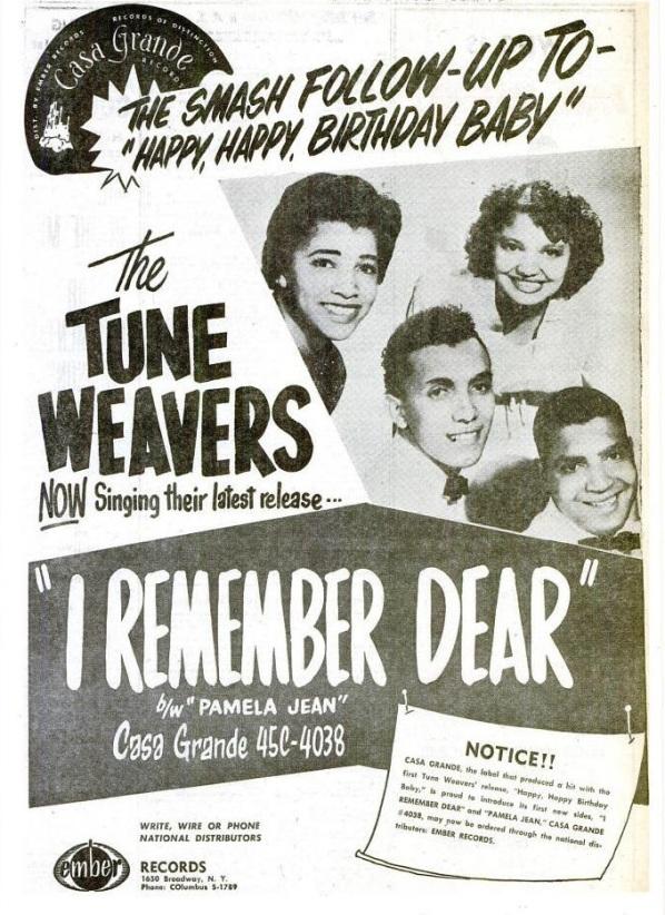 Tune Weavers - 11-57 - I Remember Dear