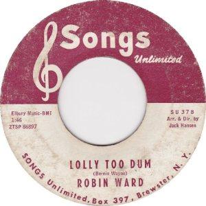 WARD ROBIN - 63 B