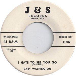 WASHINGTON BABY - 58 A