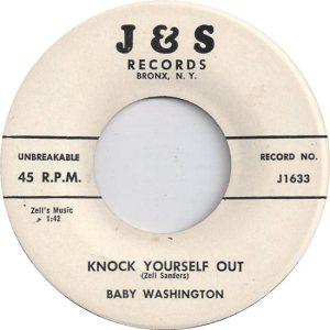 WASHINGTON BABY - 58 B