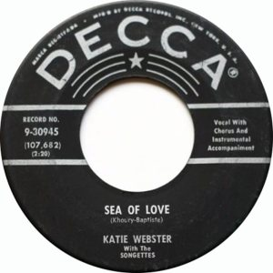 WEBSTER KATIE SONGETTES A