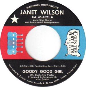 WILSON JANET - 60S B