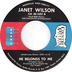 WILSON JANET - 60S C