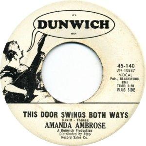 AMBROSE AMANDA 66 A
