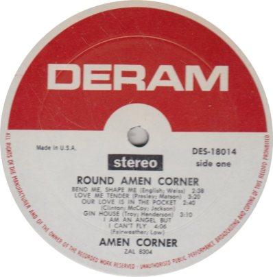 AMEN CORNER 01 A