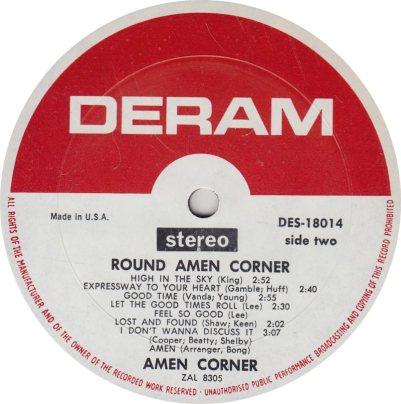 AMEN CORNER 01 B