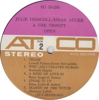 AUGER & DRISCOLL - 01 B