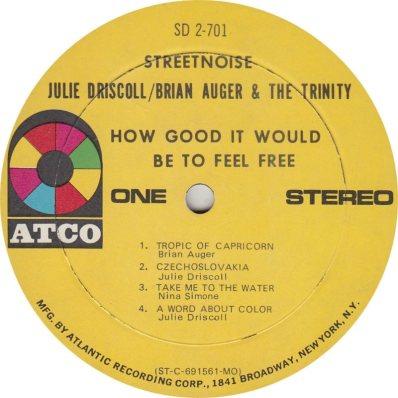 AUGER & DRISCOLL - 03 A
