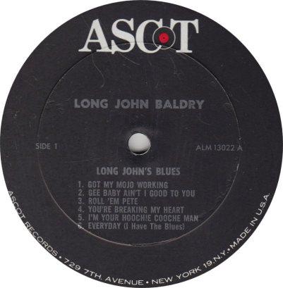 BALDRY LONG JOHN - 01 A