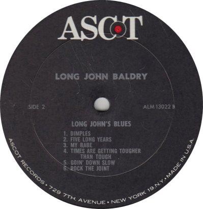BALDRY LONG JOHN - 01 B